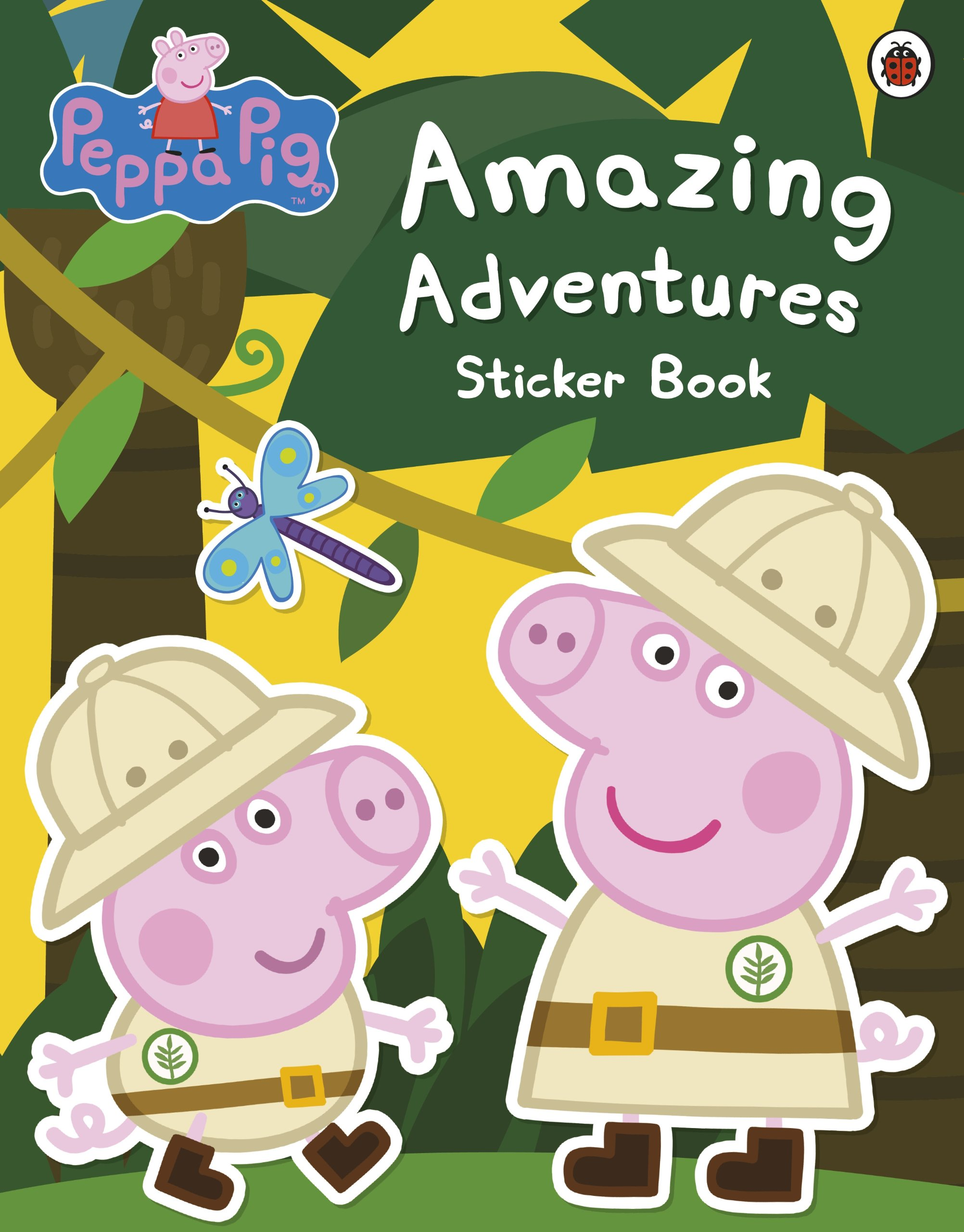 Pe peppa pig online coloring pages - Buy Peppa Pig Amazing Adventures Sticker Book Book Online At Low Prices In India Peppa Pig Amazing Adventures Sticker Book Reviews Ratings Amazon In
