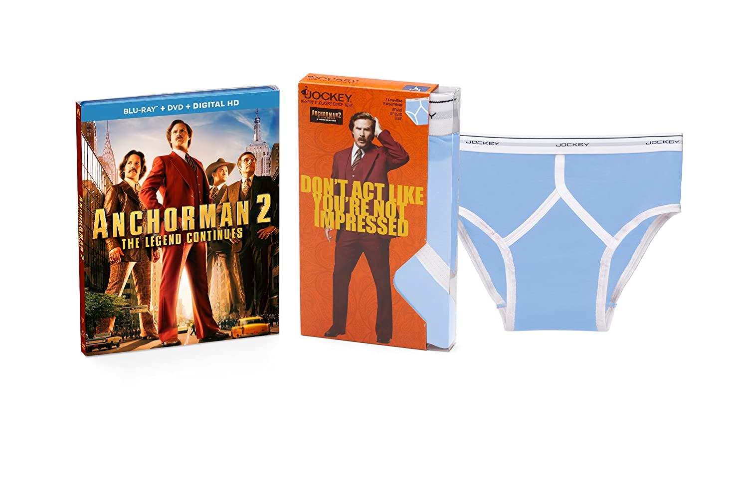 us anchorman 2 the legend continues bluray combo pack