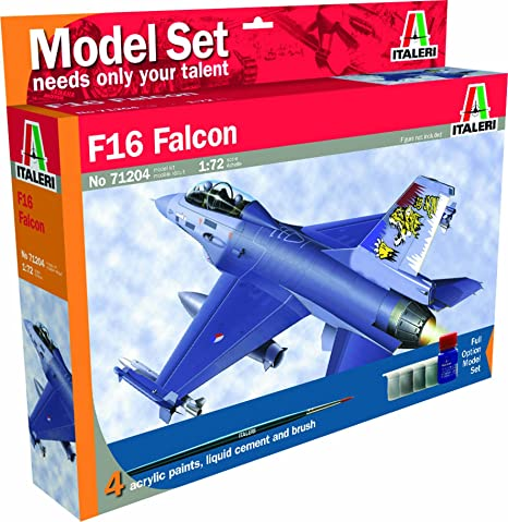 Italeri - I71204 - Maquette - Aviation - F-16A/B Fighting Falcon - Echelle 1:72