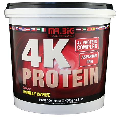 Mr.Big 4 Komponenten Protein Vanille, 1er Pack (1 x 4 kg)
