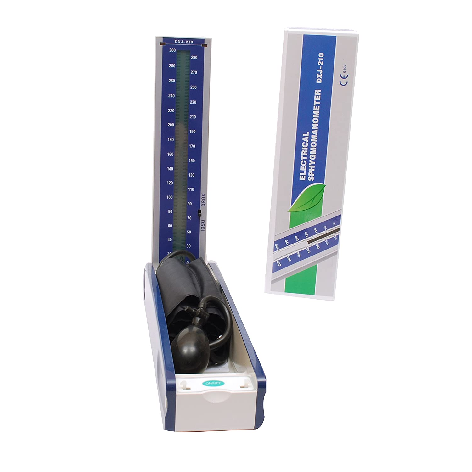 MCP Mercury Free BP Monitor