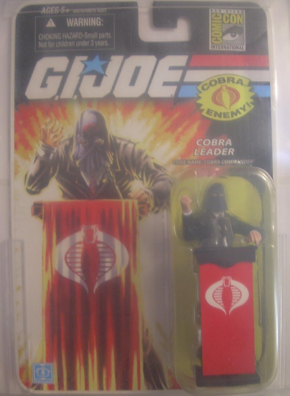 G.I. Joe Cobra Leader Cobra Commander The Cobra Enemy – San Diego Comic Con Exclusive – Actionfigure 2008 von Hasbro jetzt kaufen