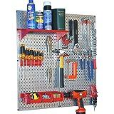 Wall Control 30-WGL-200GVR Galvanized Steel Pegboard Tool Organizer