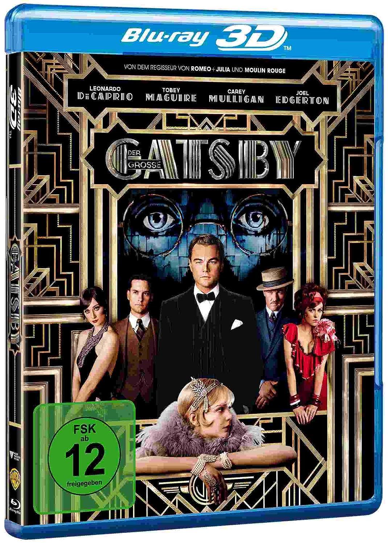 Der große Gatsby als Blu-ray und 3D ab nur 7,99€
