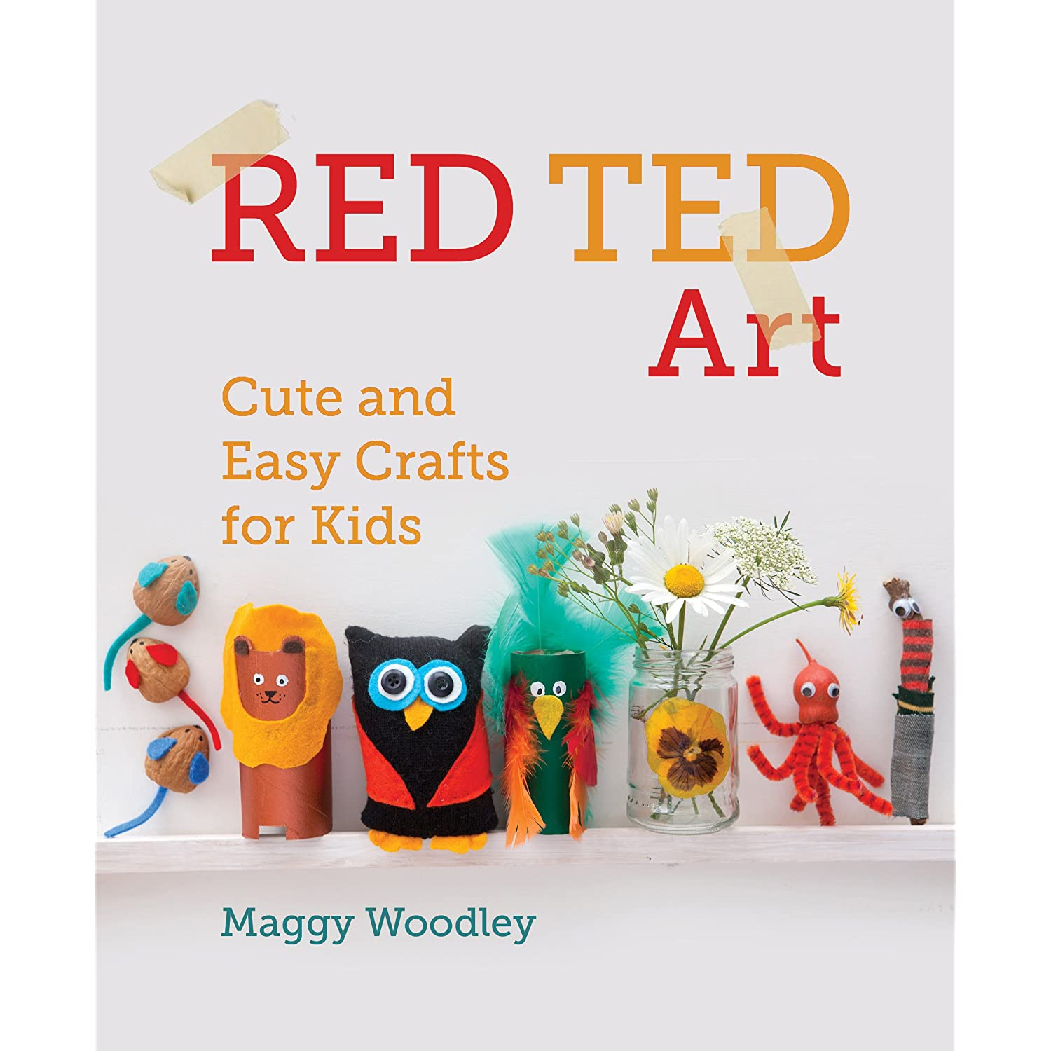 Book review red ted art cute and easy crafts for kids for Art and craft books for kids