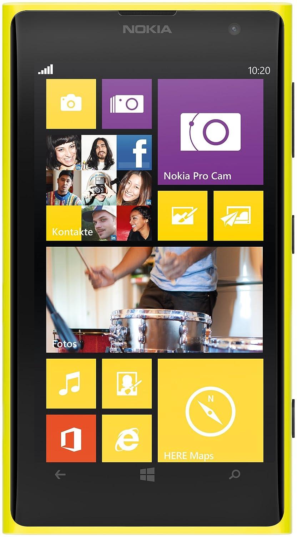 Smartphone NOKIA LUMIA 1020 JAUNE 32GO