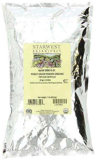 Отзывы Starwest Botanicals Organic Wheatgrass Powder