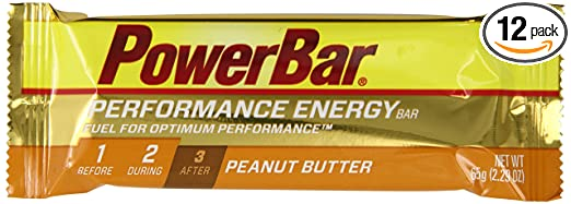 PowerBar Performance Energy Bar, Peanut Butter, 2.29-Ounce Bars (Pack of 12)