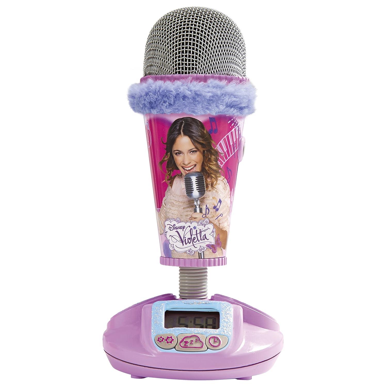 Worlds Apart 272VIO01 ReadyRoom Violetta 2 in 1 Mikrofon und Wecker online kaufen