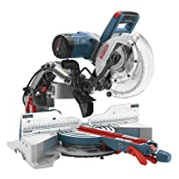 Bosch CM10GD 10-Inch Dual Bevel Glide Miter Saw, 15-Amp