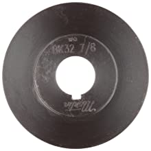 "Martin BK47 1 1/8 FHP Sheave BS, 4L/5L or B Belt Section, 1 Groove, 1-1/8"" Bore, Class 30 Gray Cast Iron, 4.45"" OD, 5575 max rpm, 3.7 Datum/4.1 Datum"
