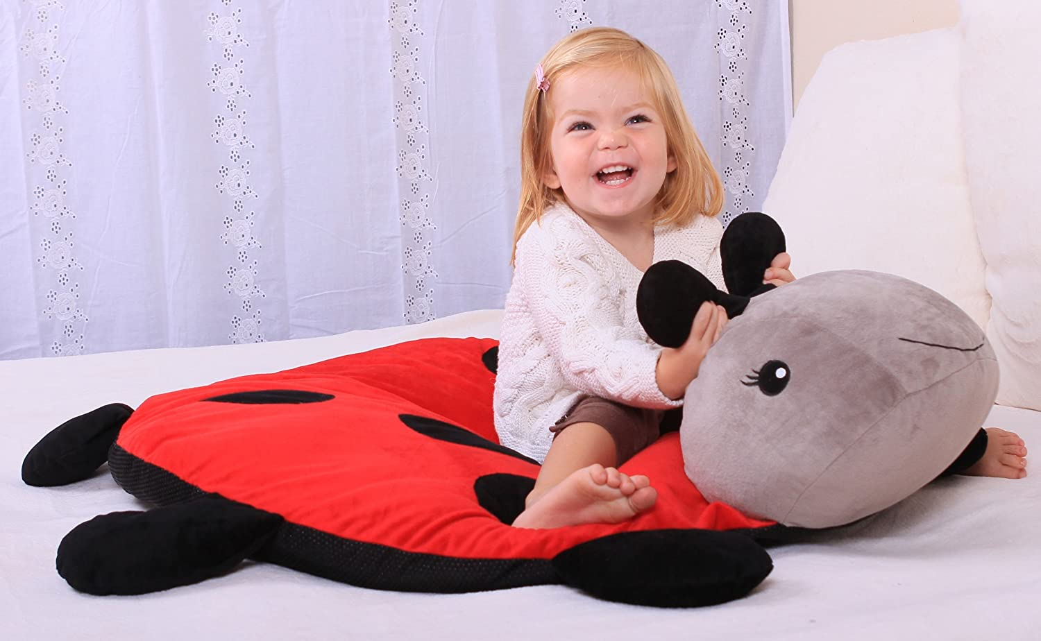 CloudB Twilight Ladybug Snug Rug Cloud B Childrens Room Decor