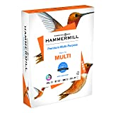 Hammermill Paper, Premium Multipurpose Paper, 8.5 x 11 Paper, Letter Size, 24lb Paper, 97 Bright, 1 Ream / 500 Sheets (105810R) Acid Free Paper (Color: White, Tamaño: 500 sheets)