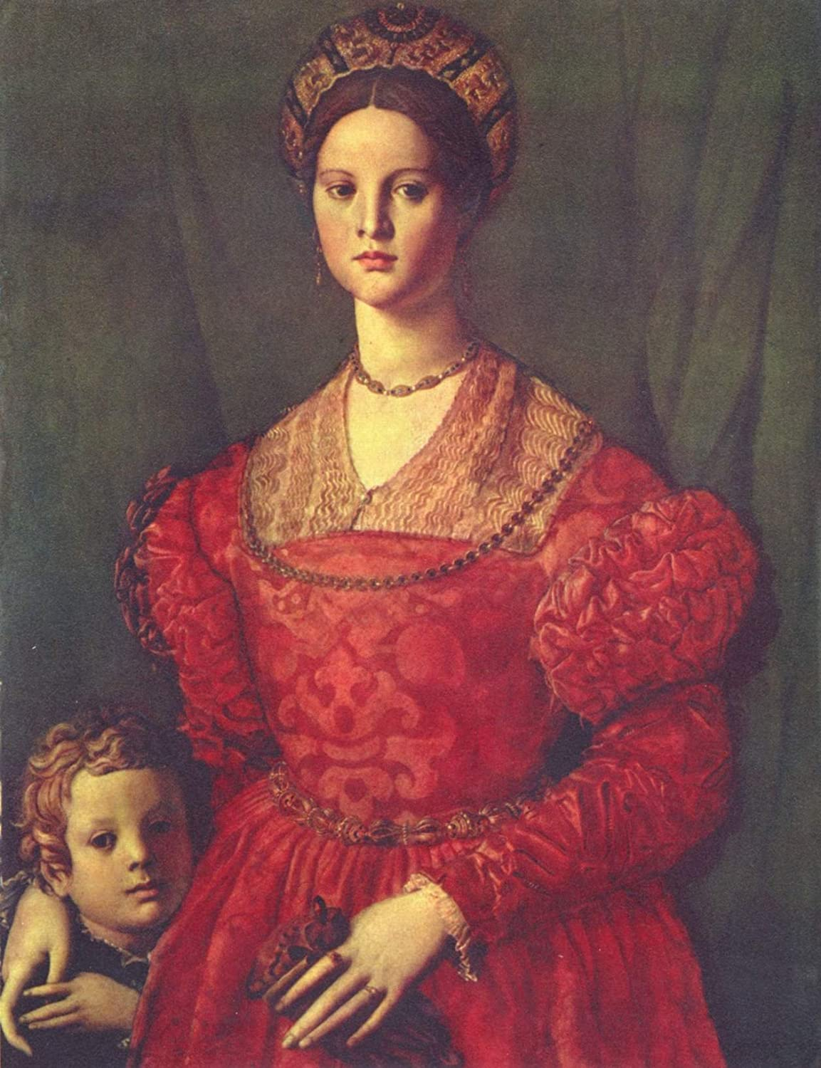 agnolo bronzino com a young w and her little boy