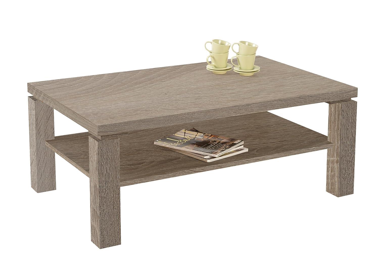 presto mobilia 11062 couchtisch wohnzimmertisch tisch manolo 70 110 x 70 x 44 cm sonoma eiche. Black Bedroom Furniture Sets. Home Design Ideas