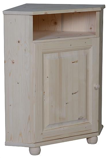 Mueble de esquina Pin en bruto