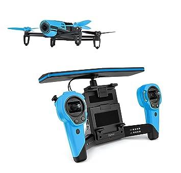 Parrot BeBop Drone avec Skycontroller Bleu pour Smartphone/Tablette