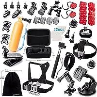 Zookki Essential Accessories Bundle Kit for GoPro Hero