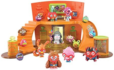Moshi Monsters – QG Super Moshi – Habitat et Figurine Elder Furi (Import Royaume-Uni)