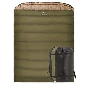 TETON SPORTS sleeping bag width=