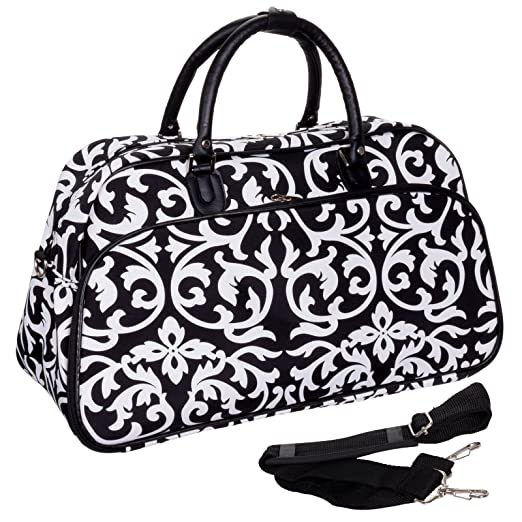 Teens and Women's Overnight, Weekend, or Gym 21″ Duffle Bag
