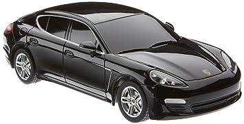 Jamara - 404407 - Maquette - Voiture - Porsche Panamera - Noir - 5 Pièces