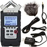 Zoom H4n Pro Four-Track Handy Audio Recorder with Accessory Pack