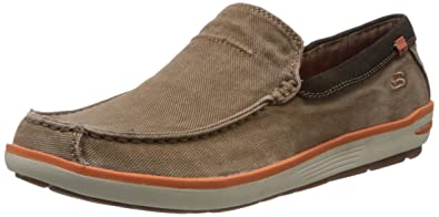 Men's New Colorway Skechers Relaxed Fit Memory Foam Naven Spenser Slip-On Wholesale Multicolor Selection
