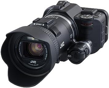 JVC GC-PX100BE Camescope 1080 pixels Zoom Optique 10 x 12.8 Mpix