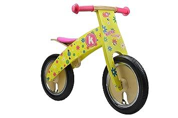 Kiddimoto - 916/611 - Vélo et Véhicule pour Enfant - Kurne Flower