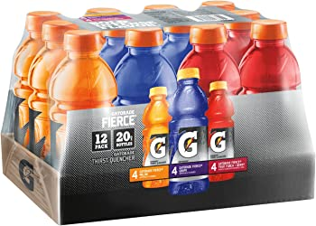 12-Pack Gatorade Fierce Thirst Quencher Bottle
