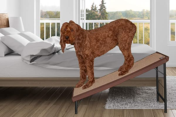 Pet Gear Ultra-Lite Free-Standing Pet Ramp with supertraX (Color: Chocolate)