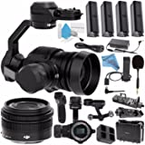 DJI Zenmuse X5 Camera and 3-Axis Gimbal with 15mm f/1.7 Lens + DJI Osmo Handle + DJI Carrying Case for Osmo Pro + DJI Osmo X5 Adapter + DJI Osmo Phone Holder + DJI Osmo 57W Power Adapter Bundle (Color: Zenmuse X5)