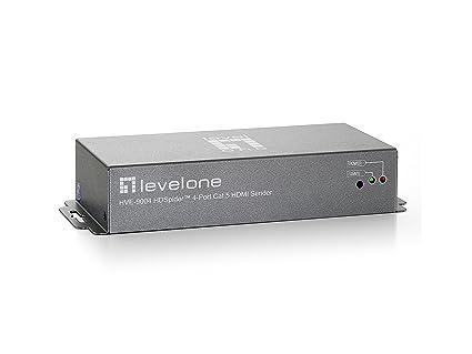 Level One HDSpider Émetteur récepteur HDMI 4 ports Cat 5