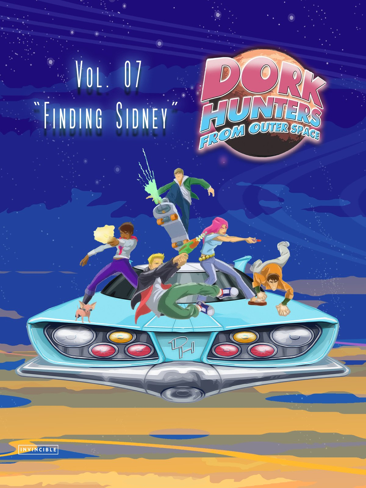 "Dork Hunters From Outer Space Vol. 07""Finding Sidney"""