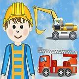 Wimmelbuch Auto und Baustelle