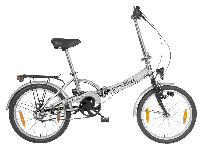 Bicicleta urbana plegable terrabike 3 velocidades