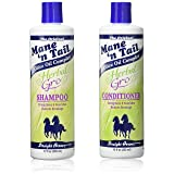 The Original Mane 'n Tail Olive Oil Complex – Herbal Gro Shampoo + Conditioner – Strengthens & Nourishes – Reduces Breakage – 12 Oz - 2-Pack (Tamaño: 12oz Set)