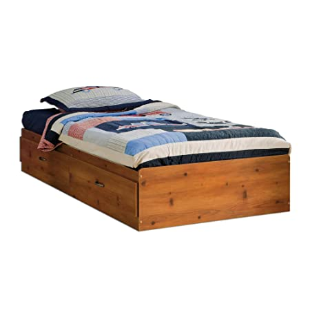 South Shore Logik Twin Mates Bed, Sunny Pine