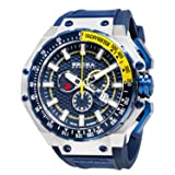 Brera Orologi: Gran Turismo in Stainless Steel and Navy (Color: Silver)
