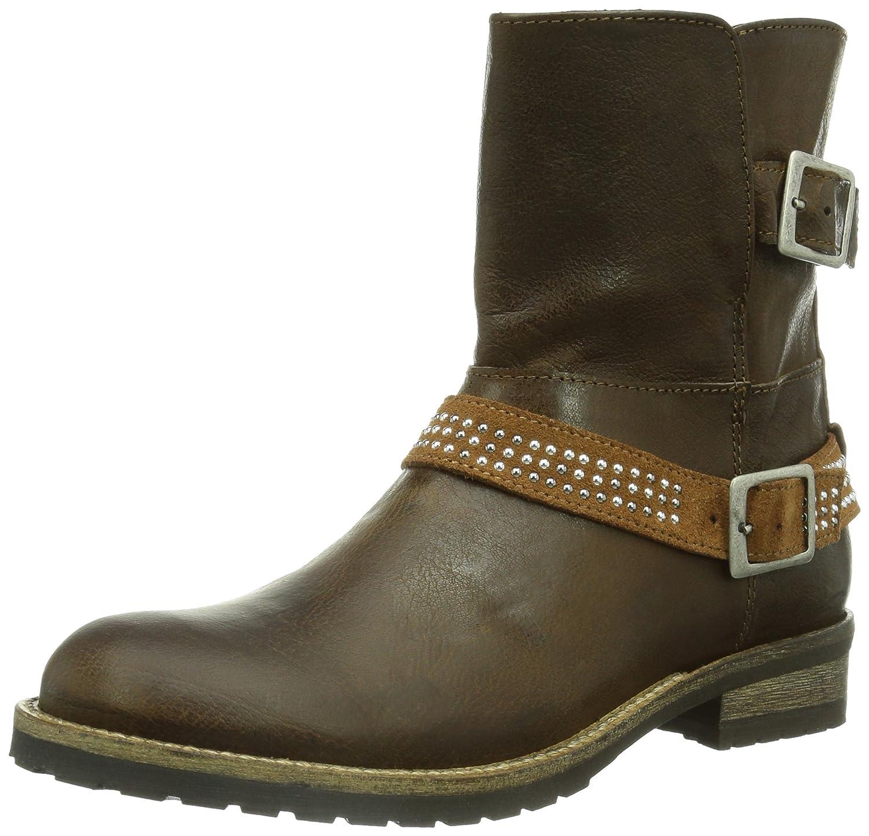 HIP Campos profile ankle bootee  strap with studds  Mädchen Biker Boots jetzt bestellen