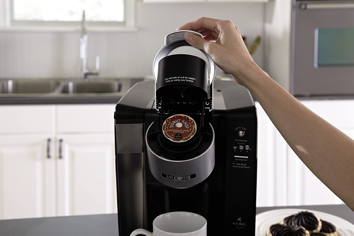 Mr. Coffee BVMC-KG6-001 Coffee Maker K-Cups