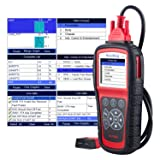 Autel MaxiDiag MD805 (MD802) All Systems OBD2 Scanner for Engine,Transmission,ABS,Airbag,EPB,Steering Wheel,SAS,BMS,Oil Service Reset,TPMS OBDII Diagnostic Tool,Life-Long Time Free updates (Tamaño: Autel MD805)