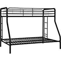 Dorel Home Products Twin-Over-Full Bunk Bed (Black)