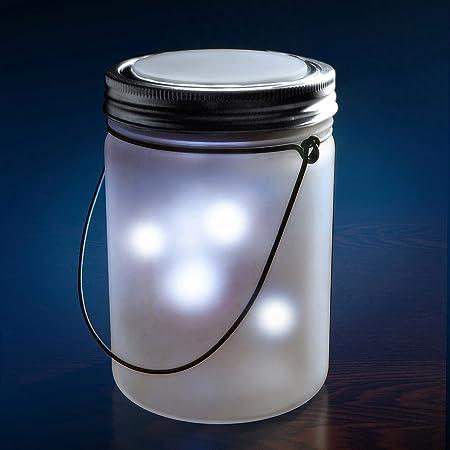 Dreamlights Magical Flickering Lights Jar - Wall Porch Lights
