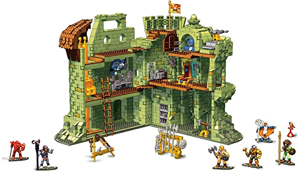 Mega Construx Probuilder: Masters of The Universe - Castle Grayskull (Color: Multicolor)