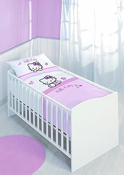 HELLO KITTY Plafonnier Chat Chambre enfant deco papillon Serviette DEL