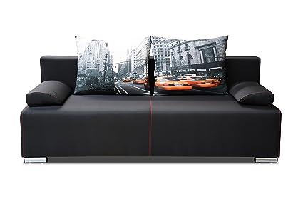 2-Sitzer Kata Sofa Couch 2er Polstersofa Schlafsofa 01335