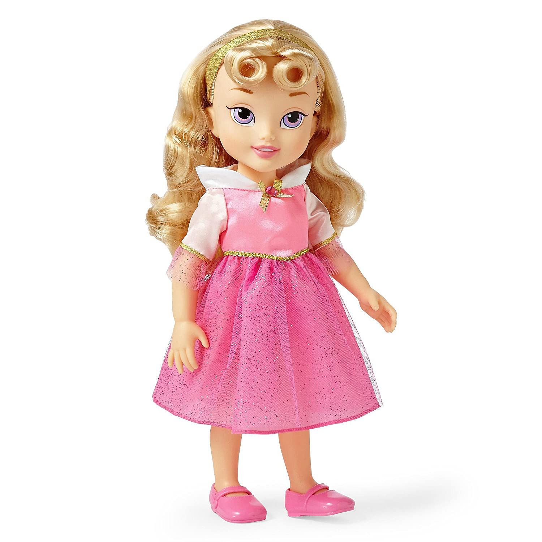 Disney Princess Aurora Toddler Doll 16 disney princess brass key 2003 holiday collection porcelain doll snow white