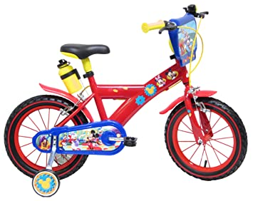 """Vélo 16"""" Disney Mickey Mouse Clubhouse officiel"""